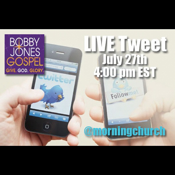 Join the @MorningChurch team on Twitter for a live tweet from BJG in DC! - from Instagram