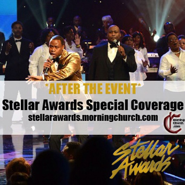 Recaps, Photos, and Videos from your @MorningChurch team are posted now of the 2013 Stellar Awards Weekend! MORE to come this weekend! stellarawards.morningchurch.com - from Instagram
